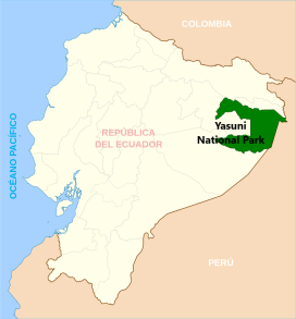 Map Yasuni